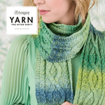 Yarn The After Party No.12 - Mossy Cable Scarf