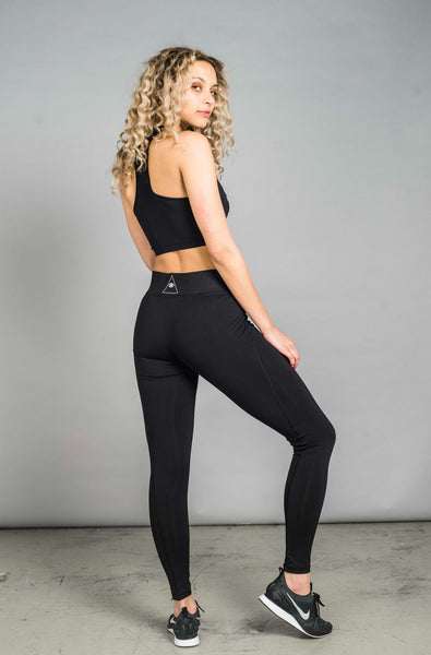 ST Strut Leggings Jet Black