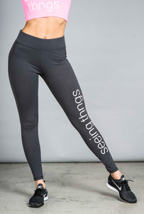 ST Strut Leggings Charcoal