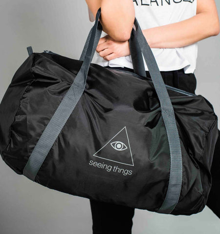 ST Barrel Bag Black/Grey