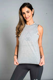 ST Logo Tank Heather Grey