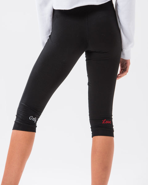 ST Only Love Capri Jogger Black