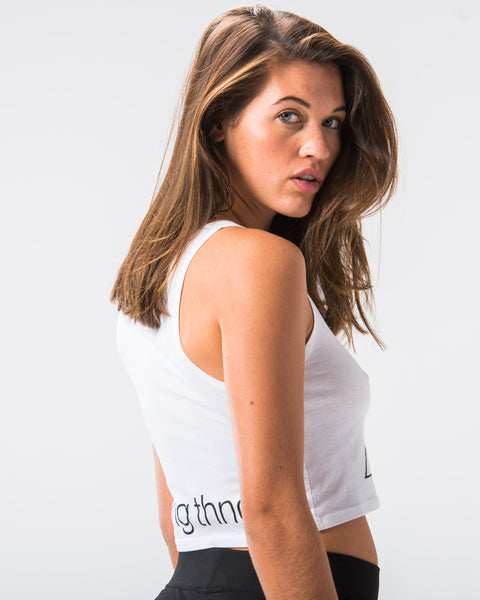 ST Whiteout Crop Tank