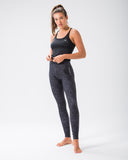 ST Extra Leggings Charcoal Static