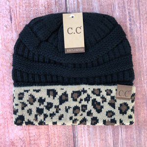 CC - Black Top Leopard