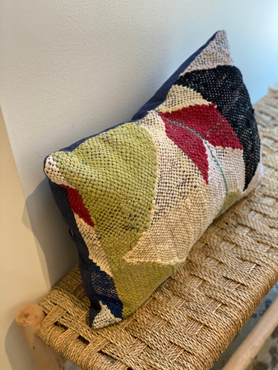 contemporary moroccan vintage cushion