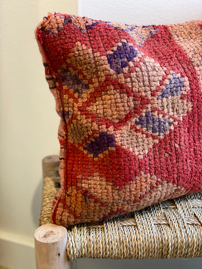 moroccan bohemian cushion