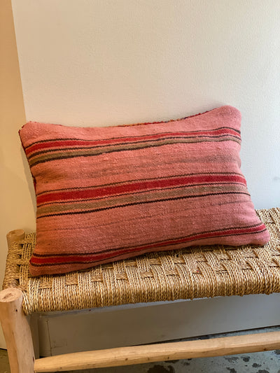 back of moroccan pillow