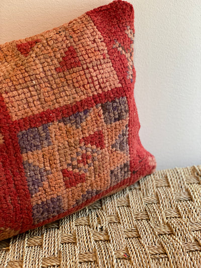 wool handmade pillow