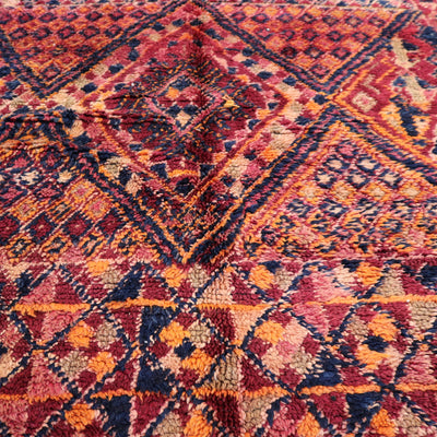 BR16-Moroccan-rugs-wool-handmade-azilal-atlas-mountain-living-room-carpet-handcrafted-tapis-marocain-pile-low-beni-ourain-soft-Beni-Mguild