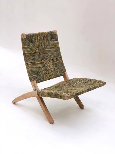 Folding Wicker Lounge Chair | Pre-Order