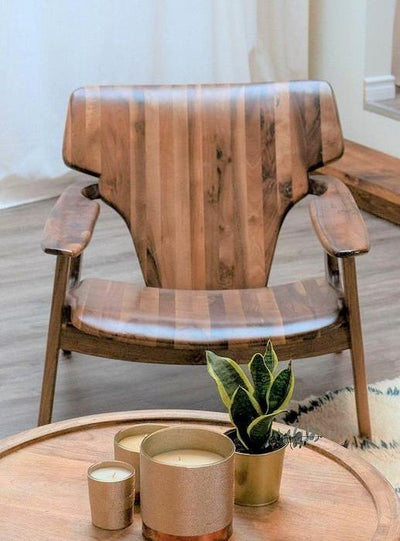 Walnut Wood Chair