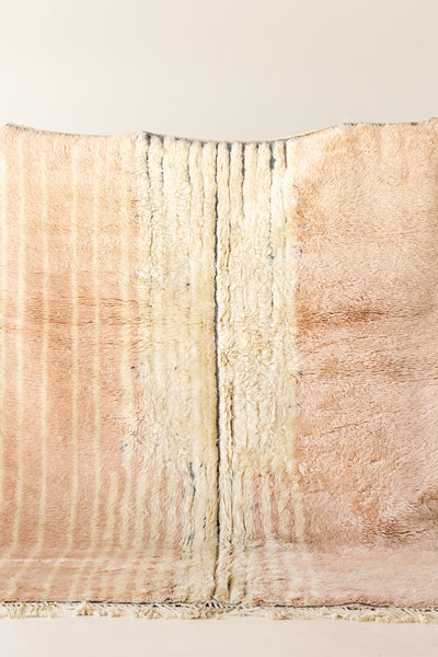 Light Pink Soft Beni Mrirt Moroccan rug