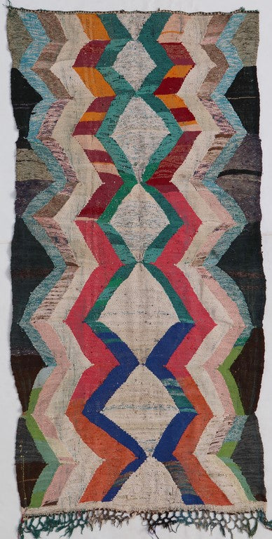 flat weave kilim large area rug, faded multicolored with no tassels, bohemian and eclectic suits living room, bedroom and dinner room perfectly