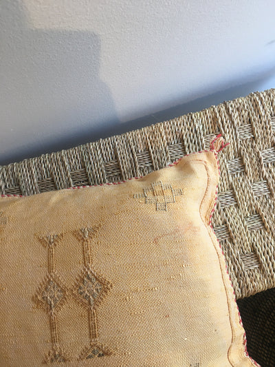 handmade eco friendly bohemian pillow