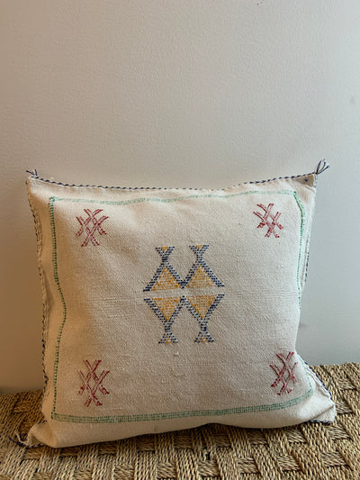 square moroccan pillow