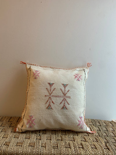 beige berber pillow