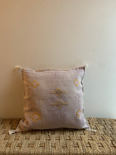 square moroccan handmade pillow