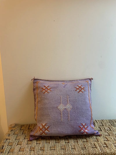 square moroccan decorative pillow