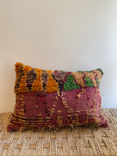 Vintage Moroccan Pillow | 129