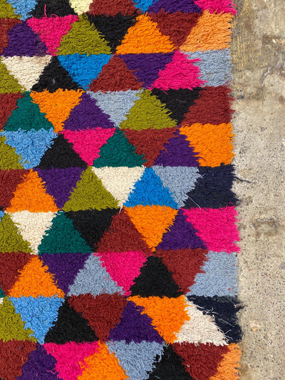 handmade colorful rug