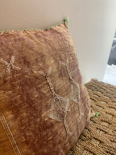 square sabra cushion
