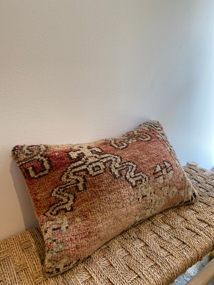 Vintage Moroccan Pillow | 123