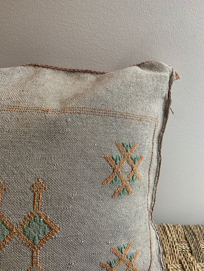 bohemian square pillow