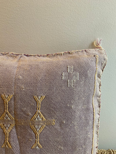 moroccan lilac cushion