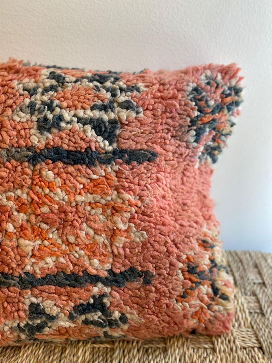 Vintage Moroccan Pillow | 126