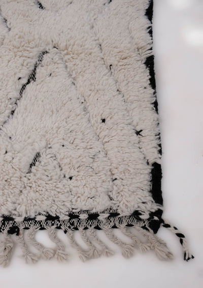 "Beni Ourain Rug 6'2"" x 9'6"" - BR008"