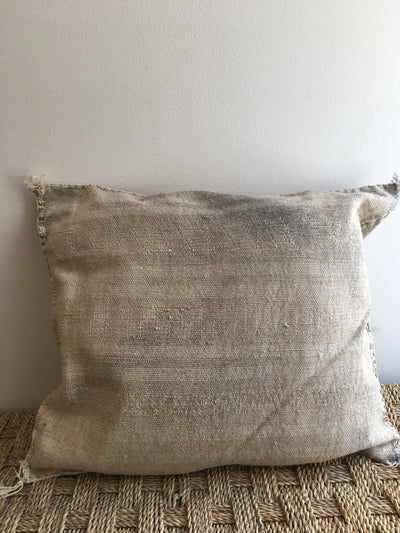 gray cactus silk cushion