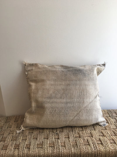 gray modern handmade pillow