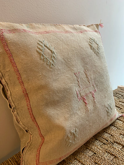 square cactus silk cushion
