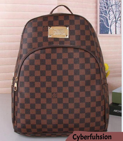 Hot New Arrival Fashion Men Women School Bags BOSPHORE Hot Punk style Men Backpack designer Backpack PU Leather Lady Bags