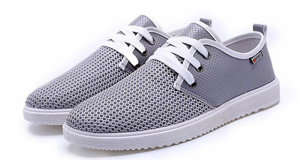 Merkmak Casual Flat Men Shoes Fashion Trend Lace-up Shoes Office Soft Driving Men Shoes Loafers Breathable Shoe Weaving Classics