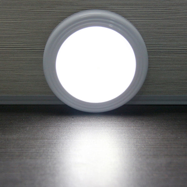 Wireless Wall Lamp Battery Magnetic Infrared IR Motion Sensor LED Night Light Auto On/Off for Closet Stairs Bedroom Cabinet