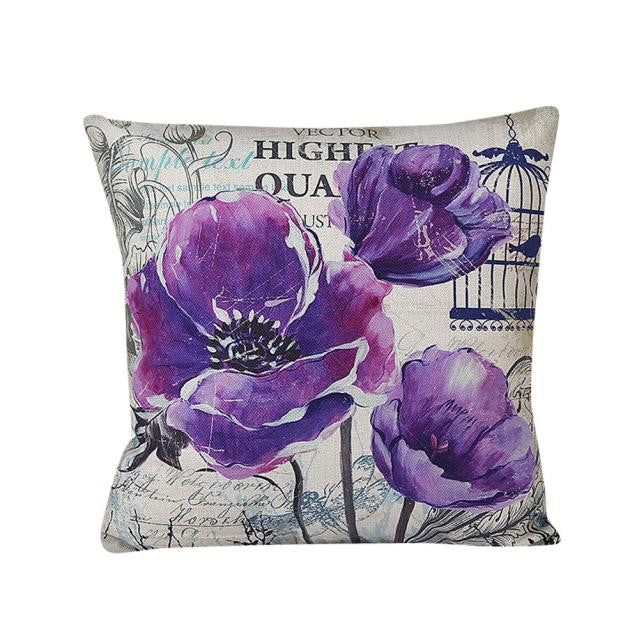 Home Decor Pillow Case Cotton Linen Cushion Cover