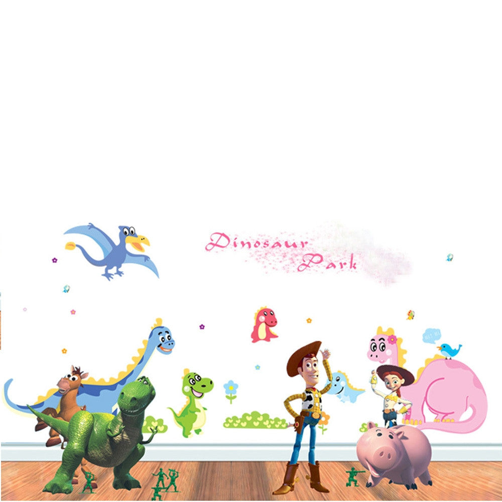 Dragon Paradize 2pcs Wall Stickers Art Decals Mural DIY Wallpaper for Room Decal 60 * 90cm