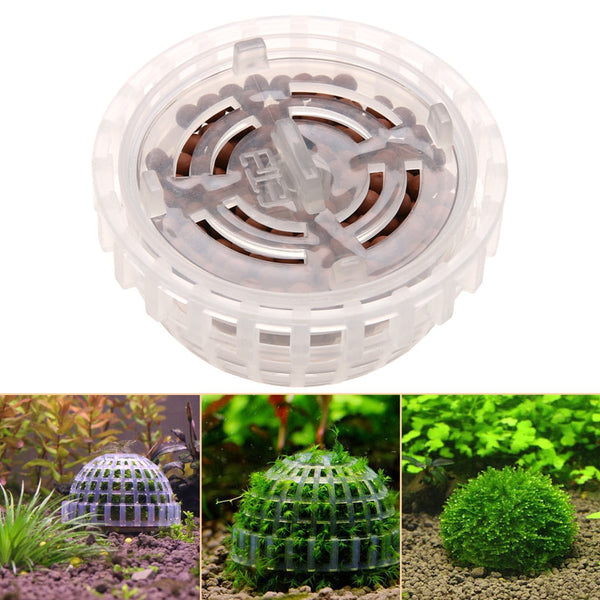 Plastic Aquarium Decoration Live Plants Fish Tank Media Moss Ball Filter for Fish Tank Aquatic Pets Mineral Balls Ornaments