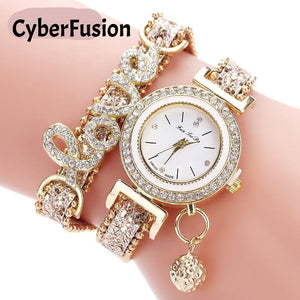 Fashion Luxury Women Wristwatch Quartz