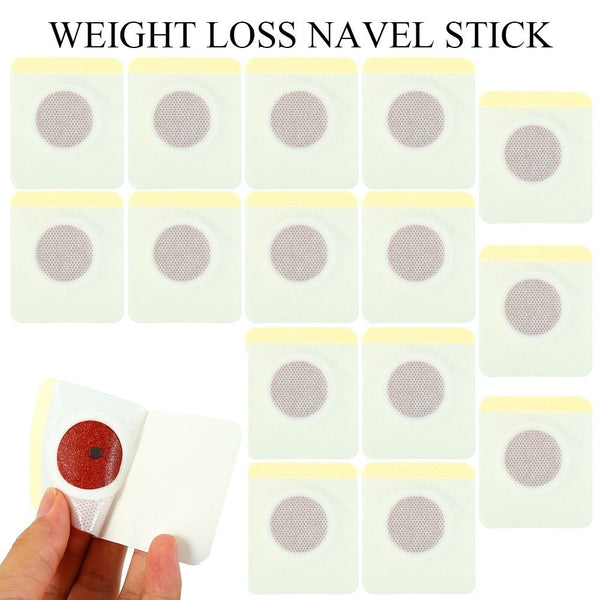 15Pcs/set Slimming Navel Stick Slim Patch Magnetic Weight Loss Burning Fat Patch