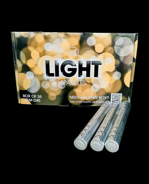 Danmade Celebration Ice Fountain Light Sparkles box of 36
