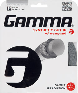 Gamma Synthetic Gut with Wearguard tennis string