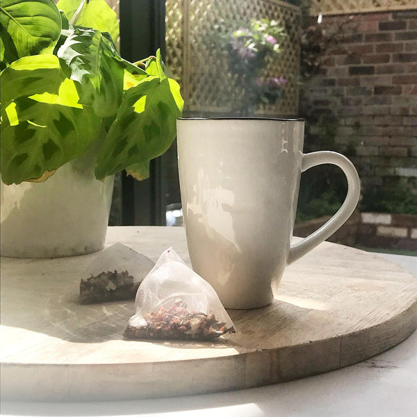 Plastic free tea bag from MISSION
