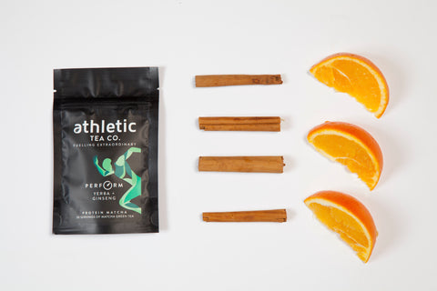 In this protein matcha pack, we've combined our premium grade yerba mate with Siberian ginseng, cinnamonn and orange peel.