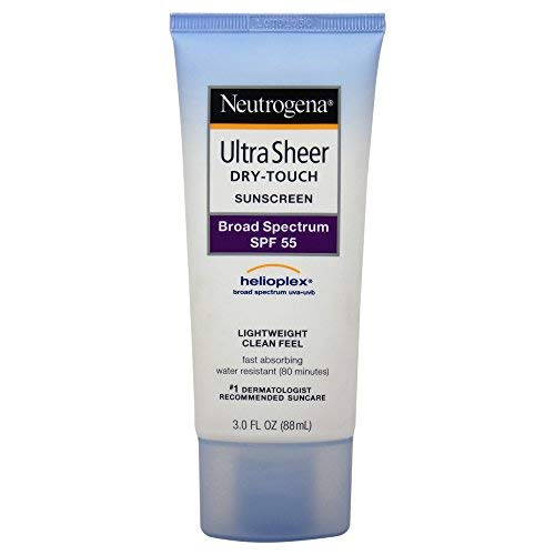 Neutrogena Ultra Sheer Dry-Touch Water Resistant Sunscreen SPF 55