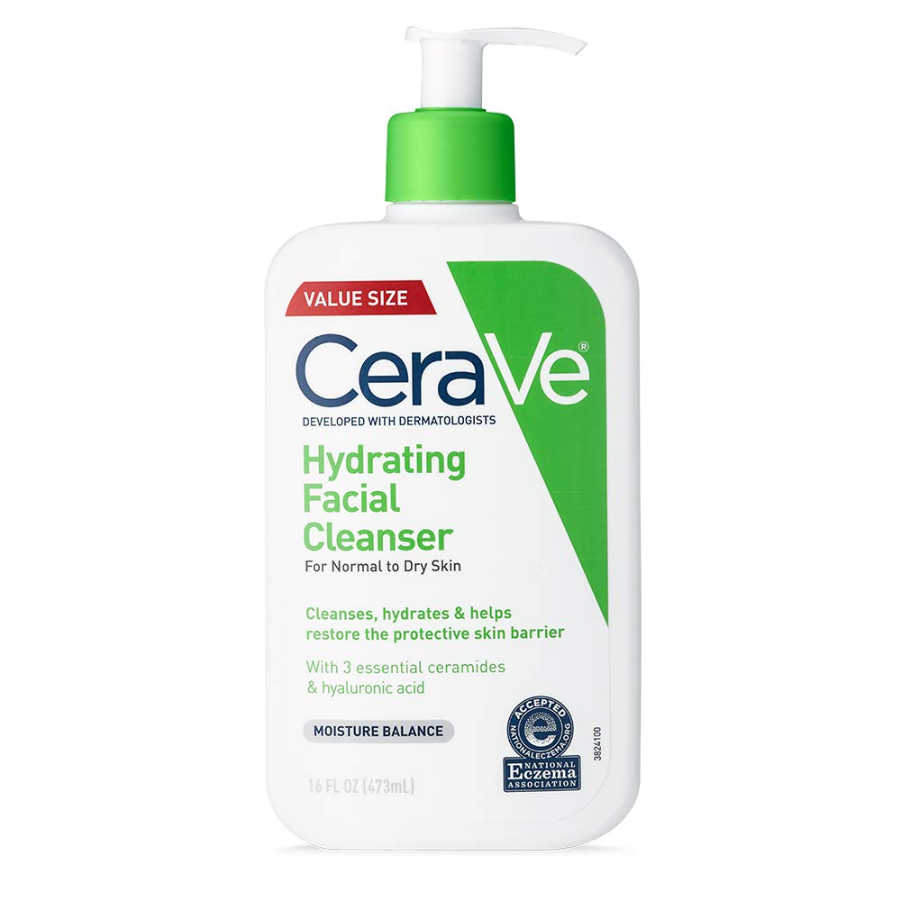 CeraVe Hydrating Face Wash Cleanser