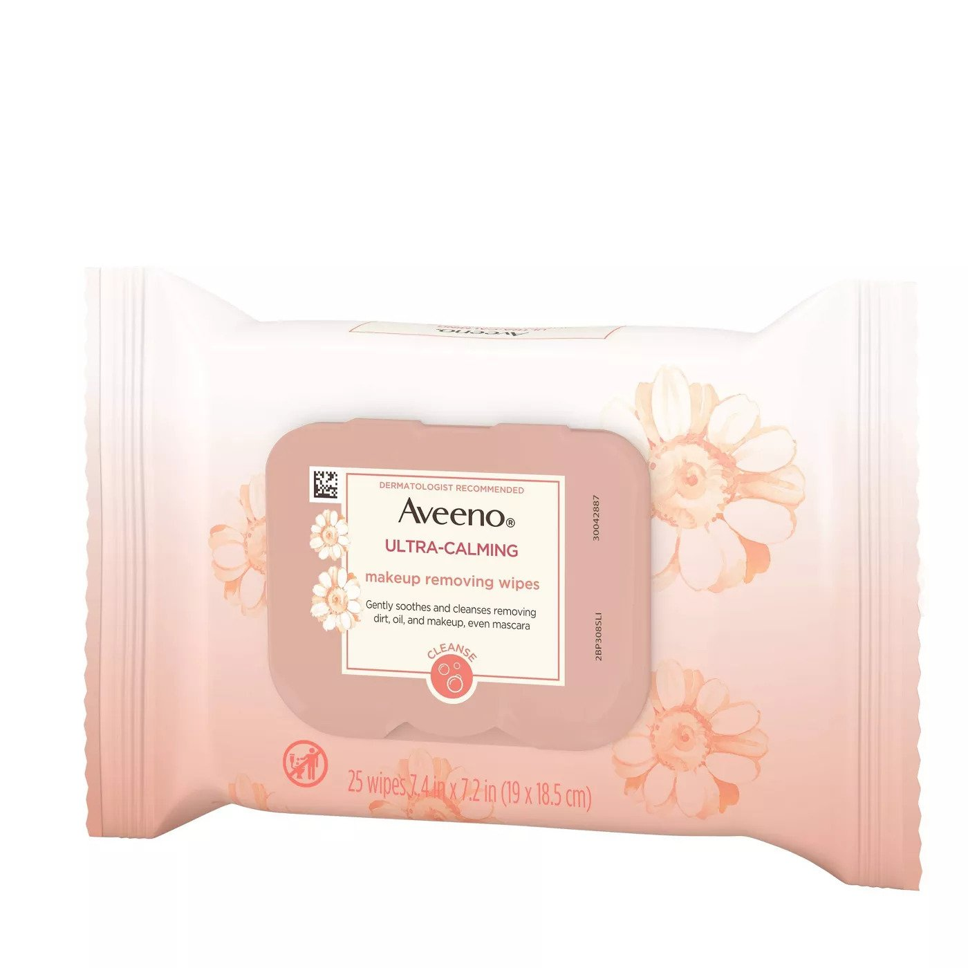 Aveeno Ultra-Calming Cleansing Makeup Remover Wipes