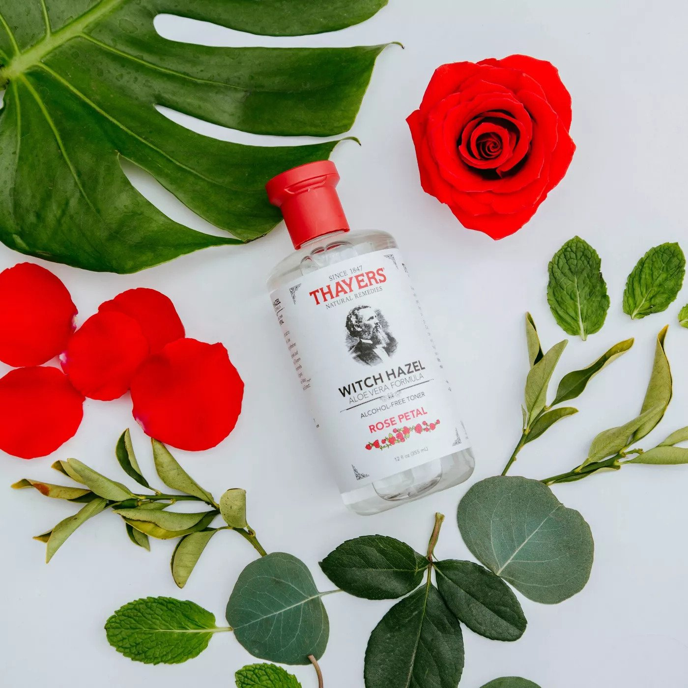 Thayers Witch Hazel Alcohol-Free Toner with Rose Petal